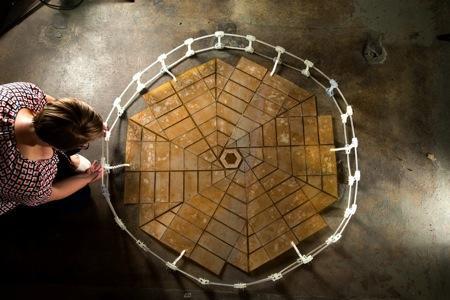 美NASA受折纸启发 建折叠太空太阳能板