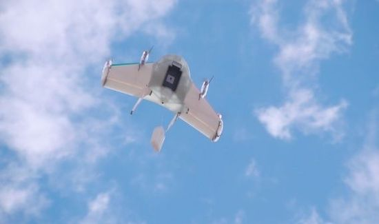 谷歌无人机项目Project Wing