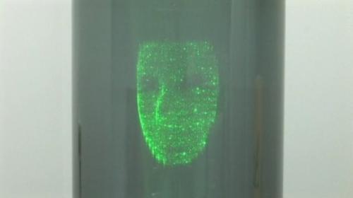 可在空中投射影像的等离子3D显示屏