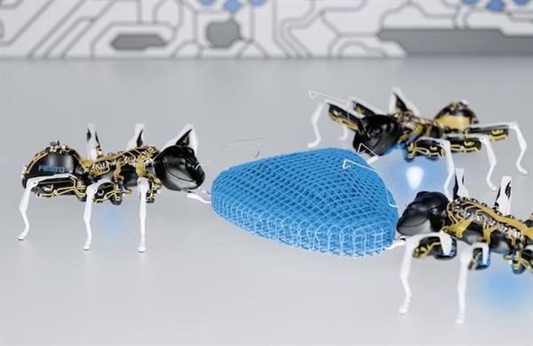 仿生机器蚂蚁 有望取代工厂工人