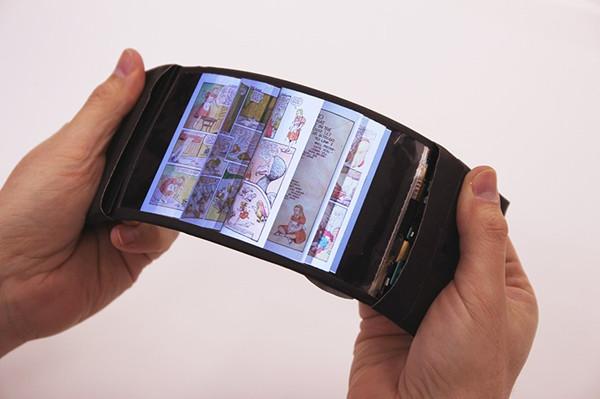 ReFlex柔性屏幕手机 可随意弯曲