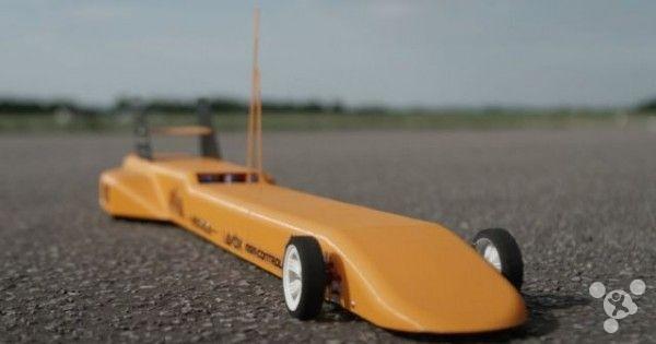 3d打印世界上最快的遥控车 有望时速325公里 -2