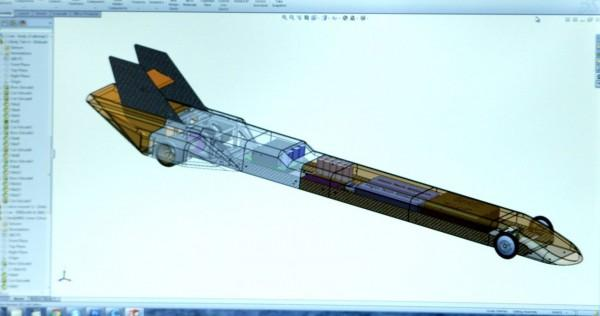 3d打印世界上最快的遥控车 有望时速325公里 -6