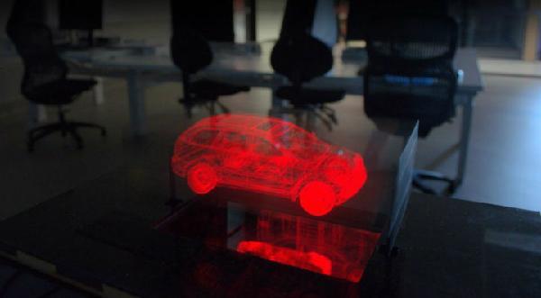 全球首台3D立体成像显示屏【视频】