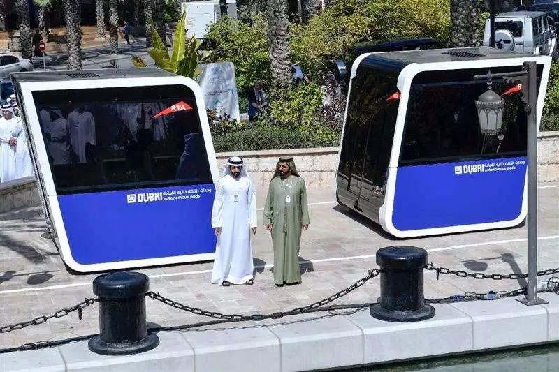 迪拜测试无人驾驶公交车 先进得让你不敢相信