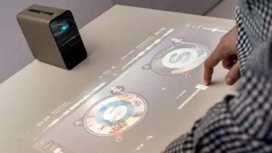 索尼超现实触控投影仪 梦幻得让你不敢相信