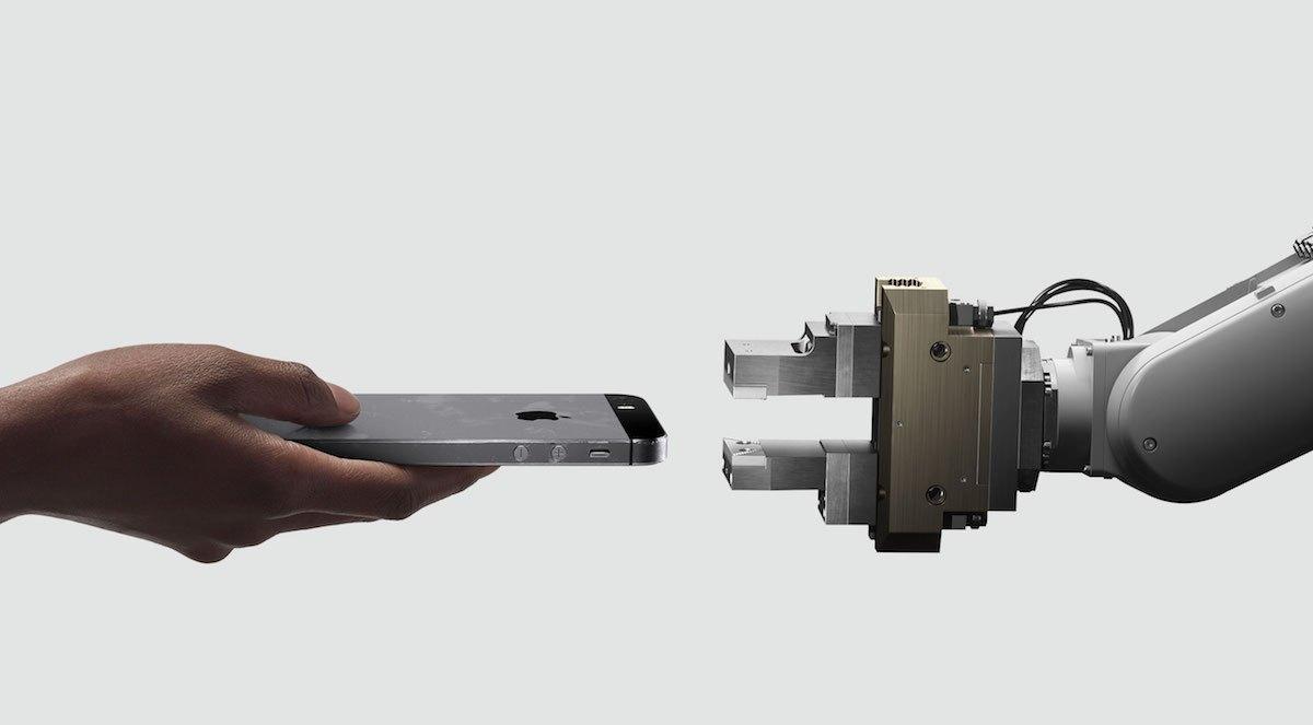 苹果新出手机拆解机器人,每小时拆200台iphone