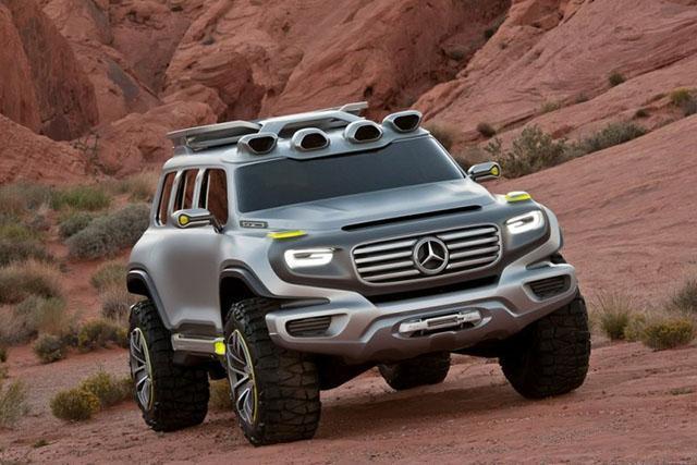 奔驰展出氢燃料汽车,加水就能跑续航800公里