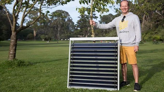 Solargaps智能太阳能百叶窗