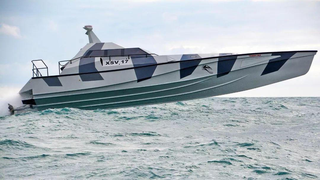 爱尔兰造了一种永远翻不了的船 XSV-17雷霆之子
