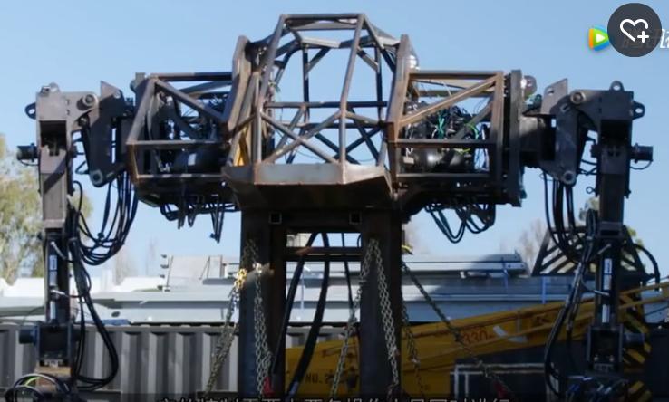 5米高巨型机器人,几分钟手撕一辆汽车