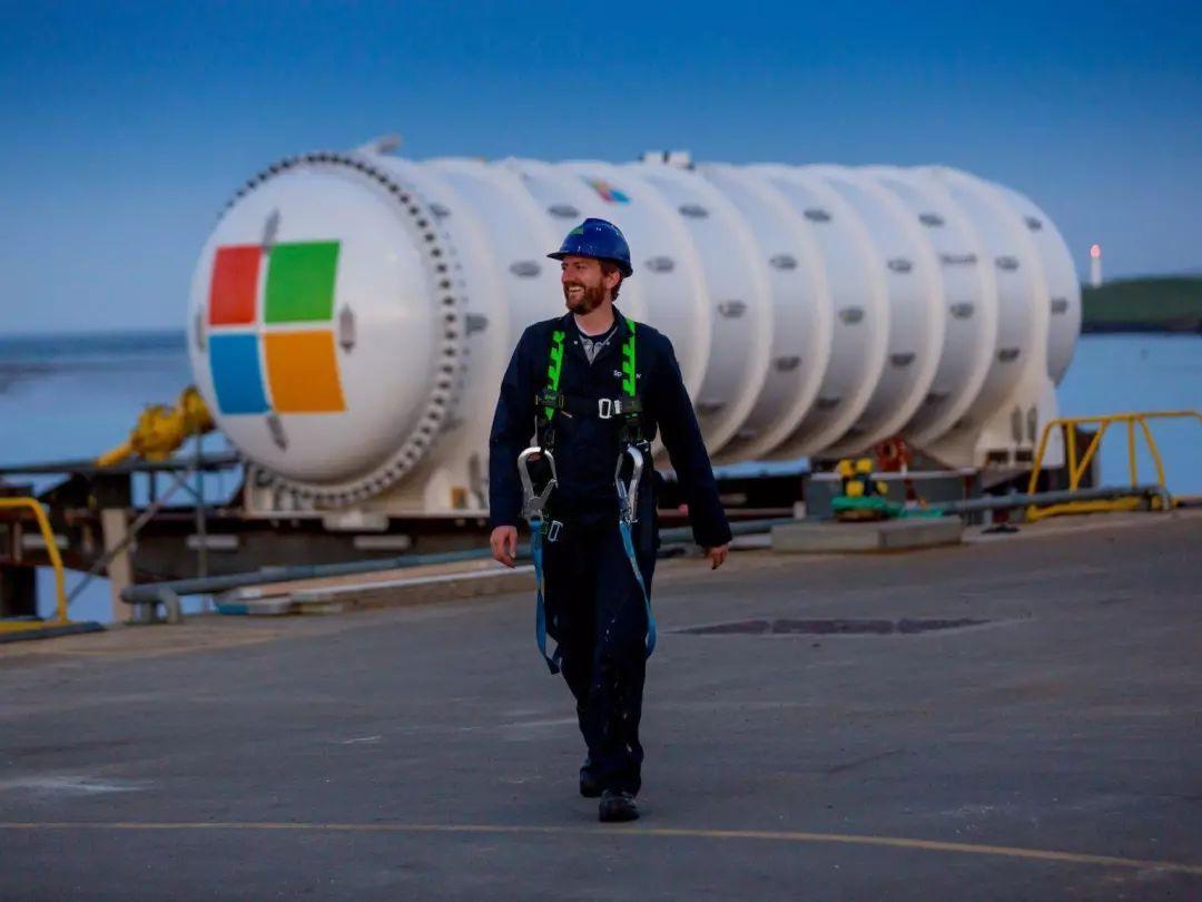厉害了,微软部署水下数据中心-玩意儿