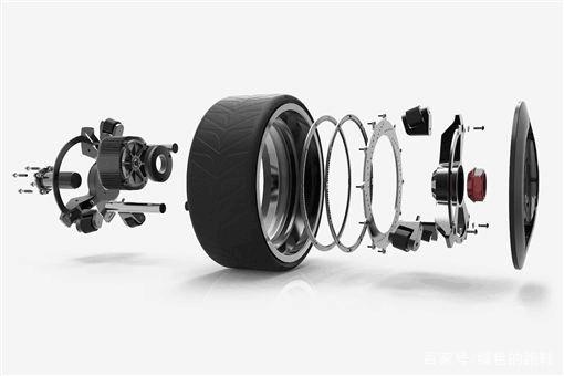 轮内马达车轮 Ring-Drive,装上后瞬间变混合动力-玩意儿