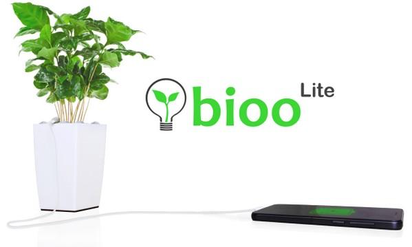 Bioo盆栽,利用光合作用进行发电