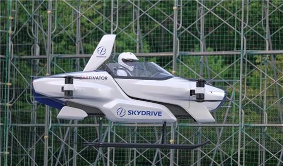 日本飞行汽车试飞成功 未来空中出行不是梦