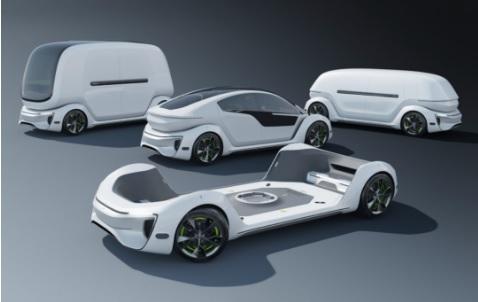 葡萄牙设计师为特斯拉设计个概念底盘 可变换不同车型