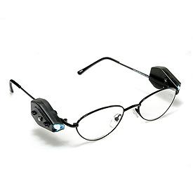 带阅读灯的眼镜