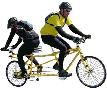 千奇百怪的自行车