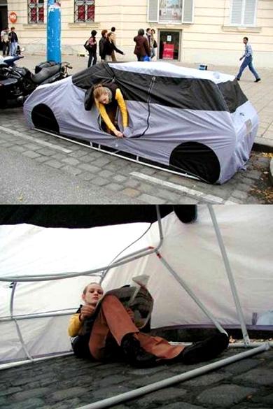 汽车形的帐篷