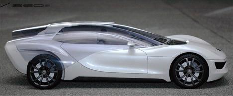 大众和Marc Kirsch合作设计的概念车Viseo