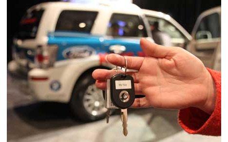 福特推出智能车钥匙