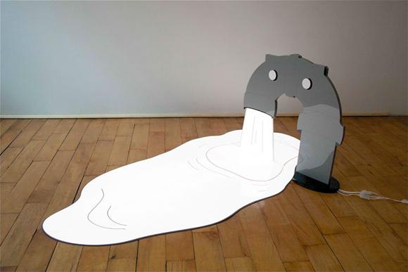 _二维和三维结合的照明雕塑-具体内容-玩意儿