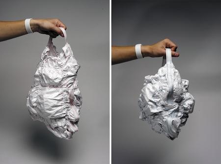 _创意纸质提包-详细描述-玩意儿