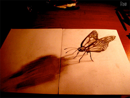 _创意3D铅笔画-详细描述-玩意儿