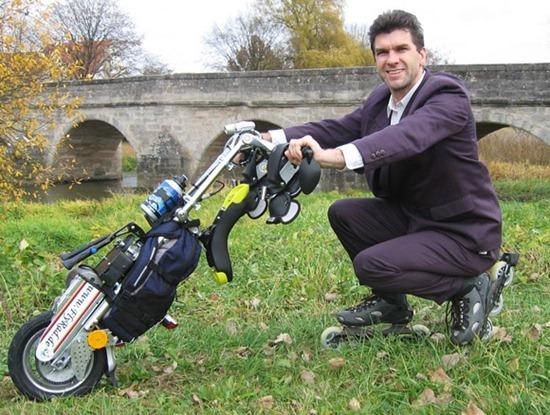 FlyRad-单轮电动摩托车