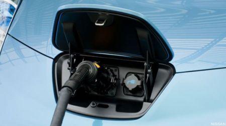可以给家庭供电的尼桑全电动车