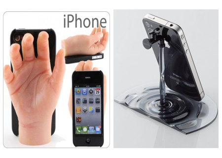 两款独特创意的iPhone支架