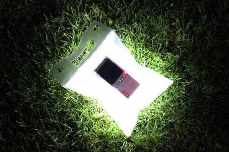 充气式太阳能灯