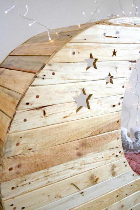 月亮船造型的创意婴儿床-玩意儿