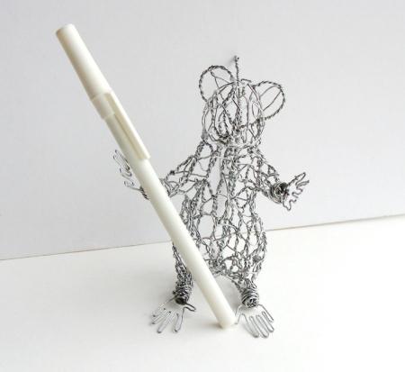 栩栩如生铁丝动物模型