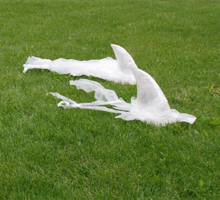 透明胶带雕塑艺术-具体内容-玩意儿
