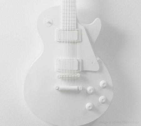 纸板模型电吉他-产品描述-玩意儿