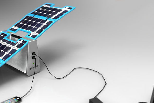 Volta太阳能移动电源-产品描述-玩意儿
