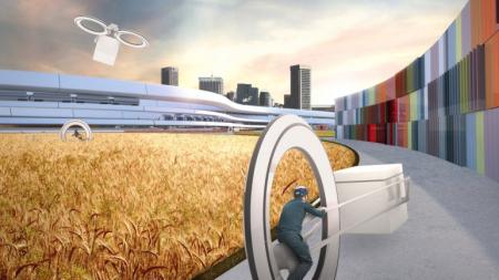 2030年未来城市交通构想-详细描述-玩意儿