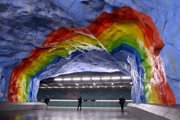 体育场地铁站,斯德哥尔摩