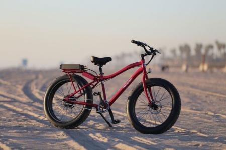 电动宽胎自行车