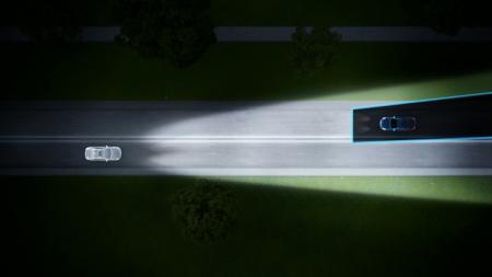 沃尔沃汽车自动灯光调节系统