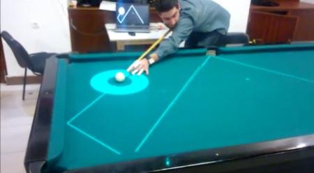 桌球辅助线投影-具体内容-玩意儿