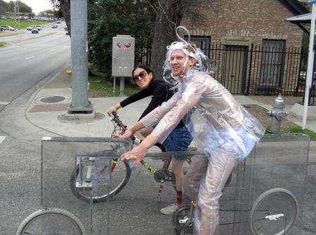自制透明自行车-产品详情-玩意儿