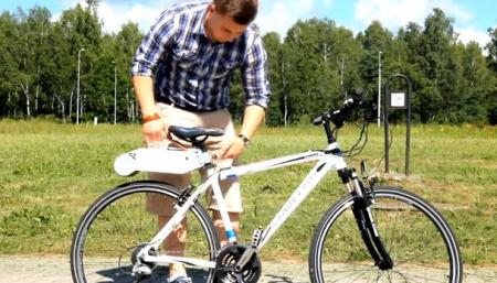 简便自行车电动装置-详细描述-玩意儿