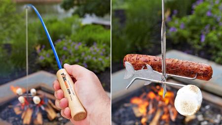 创意十足烧烤鱼竿-产品描述-玩意儿