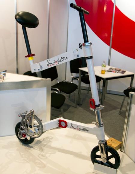 Kwiggle Bike全球最小的折叠自行车-产品描述-玩意儿