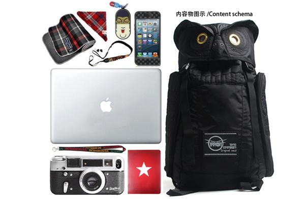 犀利的猫头鹰背包-产品详情-玩意儿