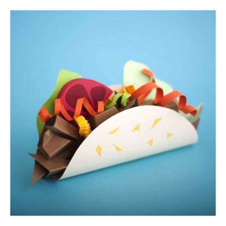 纸制美食-内容详情-玩意儿