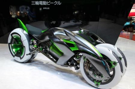"""(KAWASAKI)川崎展出""""J""""概念变形车-产品详情-玩意儿"""