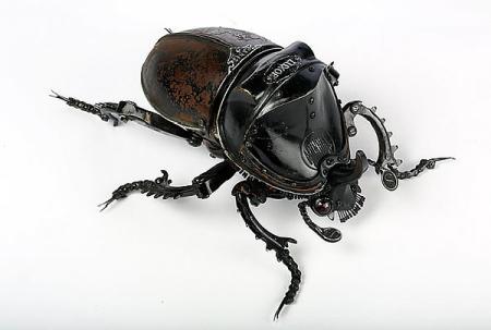 逼真机械昆虫-详细描述-玩意儿